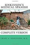 Sinkinson's Medical Spanish, Craig Sinkinson, 1456387642