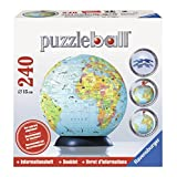 Children's Globe & Booklet 240 Piece Puzzleball by Ravensburger