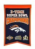 NFL Denver Broncos Super Bowl Champions Banner, One Size, Multicolor