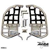 Honda TRX 400EX SPORTRAX (1999-2014) Propeg Nerf Bars Silver Bars w/ Black Net