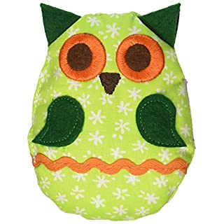 Kathe Kruse - Green Owl Stuffed Rattle