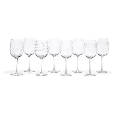 Mikasa Cheers 16-Ounce White Wine, Set Of 8