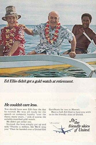 1966 United Airlines: Ed Ellis Didn't Get a Gold Watch, Unit