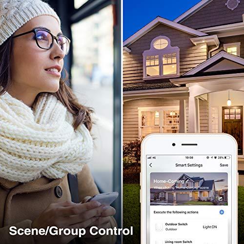 Smart Light Switch, Gosund 15A Smart Wifi Light Switch with