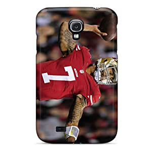 Excellent Hard Cell-phone Case For Samsung Galaxy S4 With Custom Lifelike San Francisco 49ers Skin LisaSwinburnson