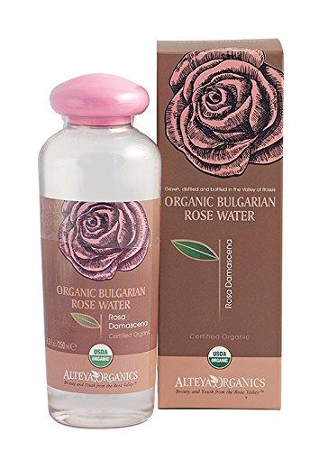 100% Natural Steam-Distilled Organic Rosa Damascena Water. (Bulgarian) - USDA Certified Organic - 8.5