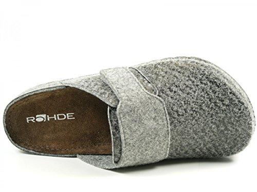 Rohde Riesa H - Zapatillas de casa Hombre Gris - gris