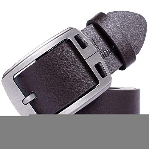 [해외]Men belt cow genuine leather strap male belts for men classice vintage pin buck / Men belt cow genuine leather strap male belts for men classice vintage pin buck