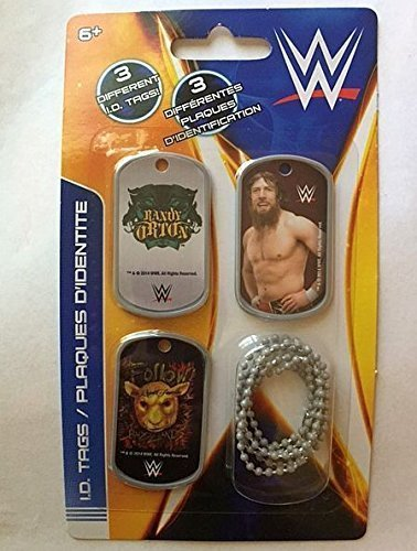 WWE Wrestler Randy Orton Dog Tags - Set F - 3 Count ()