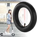 scooter Black Thick Tyre Inner Tube 8 1/2x2 Straight Valve Anti-Slip For Xiaomi