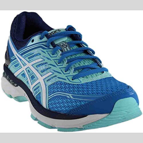 ASICS Women's GT-2000 5 Running Shoe, Diva Blue/White/Aqua Splash, 8.5 D - Blue Running