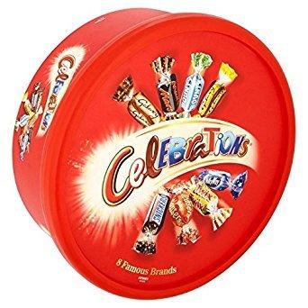 Chocolates Celebration (Celebrations Tub 650g)