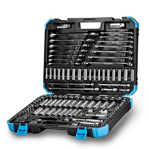 - Capri Tools Master Mechanics Tools Set, 128-Piece