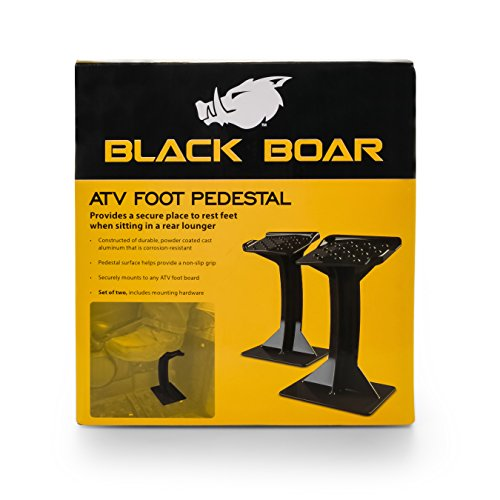 Black Boar ATV Foot Pedestal for Rear Passenger (66017) by Black Boar (Image #5)