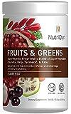 NutriDyn Fruits & Greens Espresso Flavor *Certified Organic* w/ Acai, Gogi, Mangosteen, Noni & Pomegranate Super Fruits Net Wt. 10.8 oz (306.9 g) (Espresso)