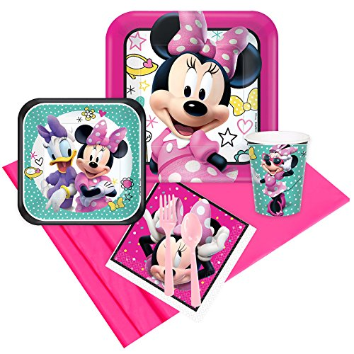 BirthdayExpress Minnie Mouse Helpers Party Supplies Party Pack for 8