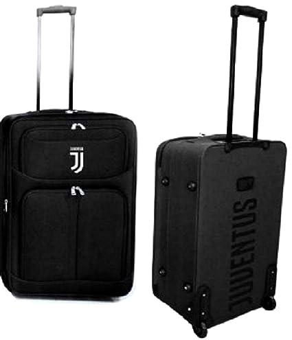 f5aaadf0fc Trolley Juventus Juve JJ Originale Ufficiale Valigia Bagaglio Grande Enzo  Castellano TRJJ65GR: Amazon.it: Sport e tempo libero