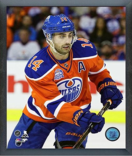 Jordan Eberle Edmonton Oilers NHL Action Photo (Size: 12