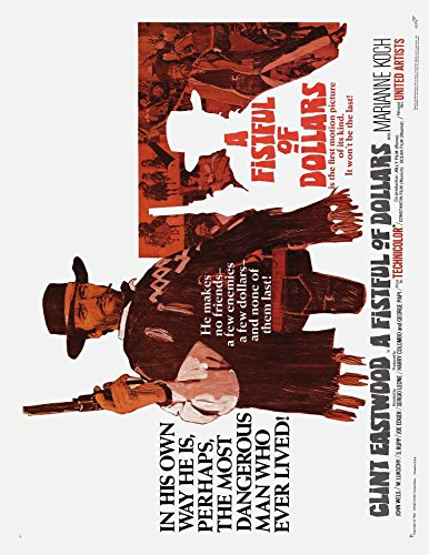 A Fistful of Dollars 1967 Movie Poster