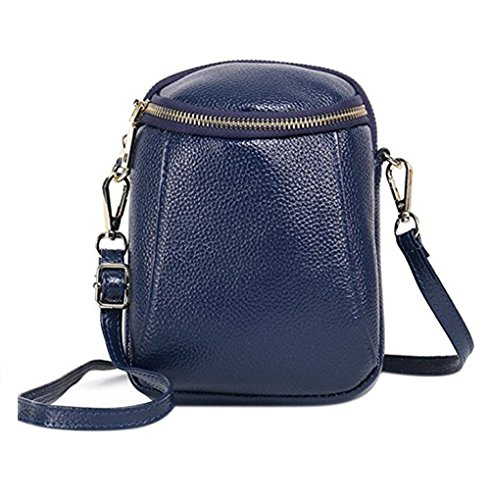 US Crossbody Phone 7 Leather Cell Bag RARITY for 6 Wallet Plus Fits Shoulder Purse 6S Small 8 Blue IPhone Handbag R1dwEq
