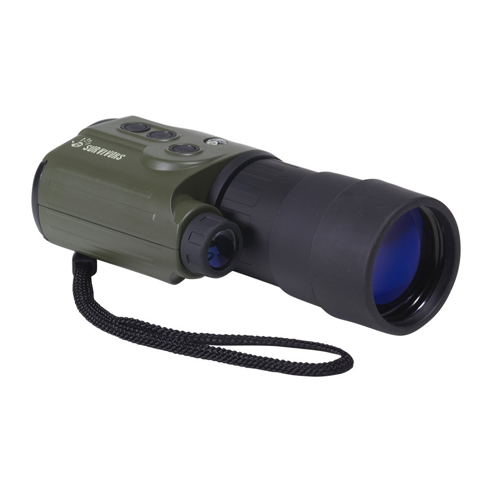 12 Survivors Trace 5x50 Digital Night Vision Recording Monocular by 12 Survivors