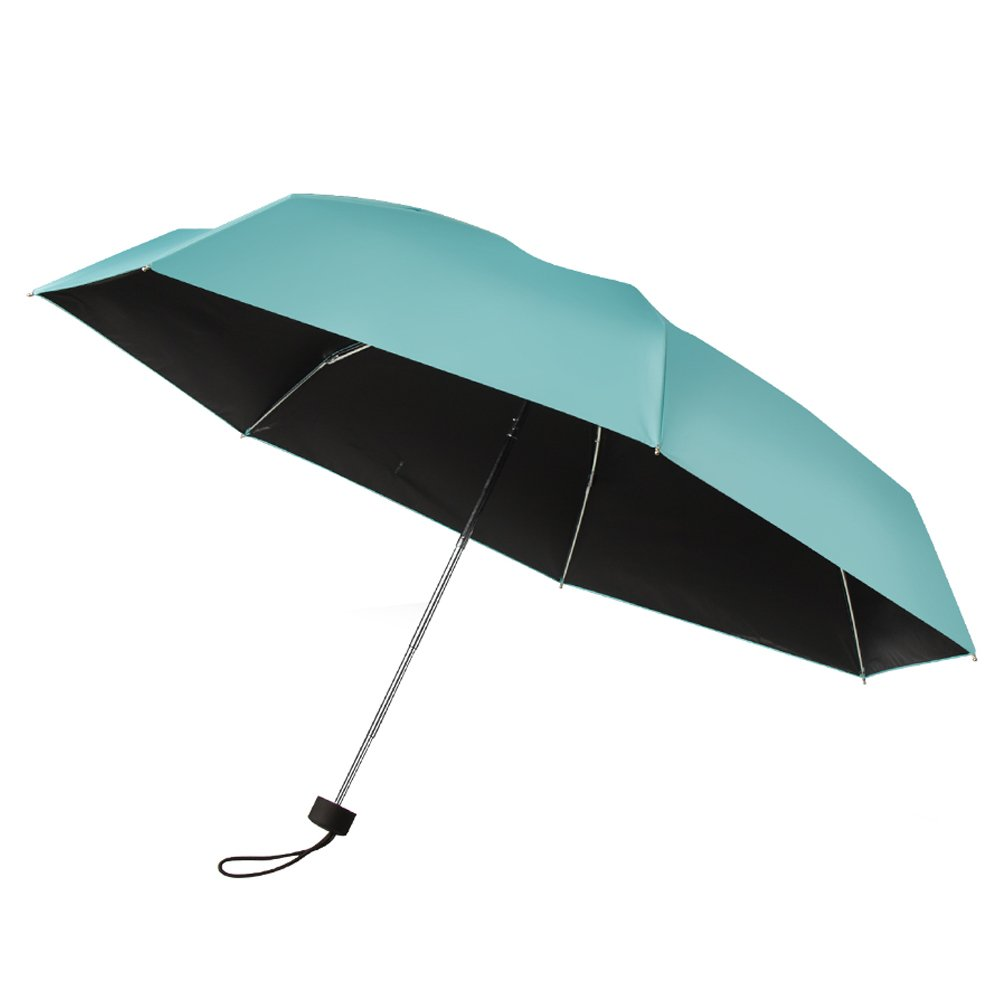plemo umbrella tiffany blue travel compact lightweight ultra mini pocket ebay. Black Bedroom Furniture Sets. Home Design Ideas