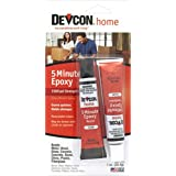 ITW Devcon 20545 5-Minute Epoxy Glue 1-Ounce Tube, 0.5 Ounces, Clear