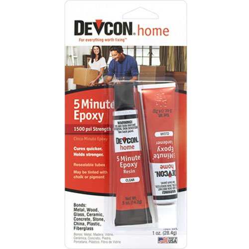 (ITW Devcon S205 5-Minute Epoxy Glue 1-Ounce Tube)