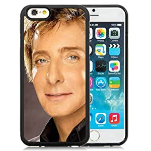 Hot Sale And Popular iPhone 6 4.7 Inch TPU Case Designed With BarryManilowFaceEyesSuitShirt iPhone 6 Phone Case