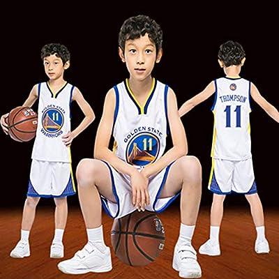 HSWU-DRESS Jersey De Niño NBA Golden State Warriors Klay Thompson ...