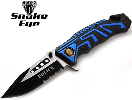 Snake Eye Tactical Assisted Fantasy Handle Design Knife Rescue Outdoors Tactical PD