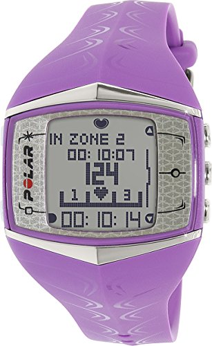 Polar FT60F Bike computer with heart monitor purple