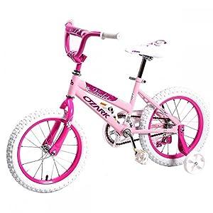 "16"" Steel Frame Children BMX Girls Kids Bike Bicycle with Training Wheels"