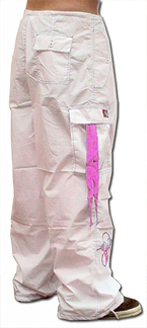 Ghast Unisex Cargo Drawstring Contrast Stitching Rave Dance Pants GHASTPANTS_CONTRAST