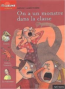 """Afficher """"On a un monstre dans la classe !"""""""