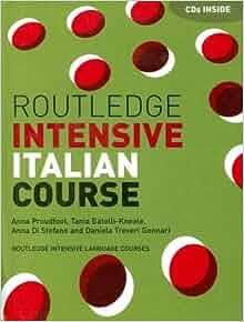 Routledge intensive italian course audio