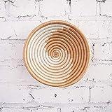 Small African Basket- Sokoke/Rwanda Basket/Woven Bowl/Sisal & Sweetgrass Basket/Tans, White