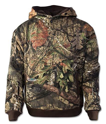 Arborwear Men's Double Thick Pullover Sweatshirt, Mossy Oak - Break Up Country, 2X-Large