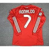 Retro Ronaldo#7 Real Madrid Longsleeve Soccer Jersey 2012