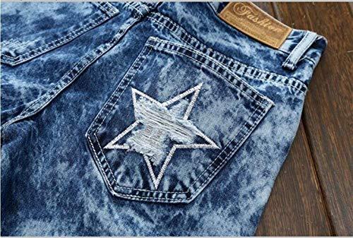 Cowboy coltivati Ne Self Blau Abbigliamento Jeans Originali Ssig Classic Da Nativeness alla Straight Moda Uomo WYqwv5wR