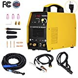 TIG Welder - Welding Machine, 200 Amp HF TIG Torch/Stick/Arc Portable AC DC 110V Inverter Welder For Stainless Steel, Alloy Steel, Carbon Steel, Copper, Copper Alloy And Other Non-Ferrous Metal Welding