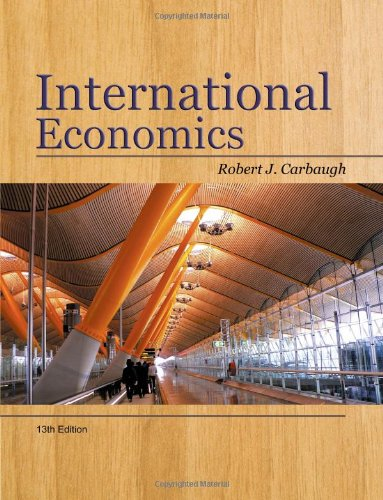 International Economics (Available Titles CourseMate) - Lucky 13 Panther