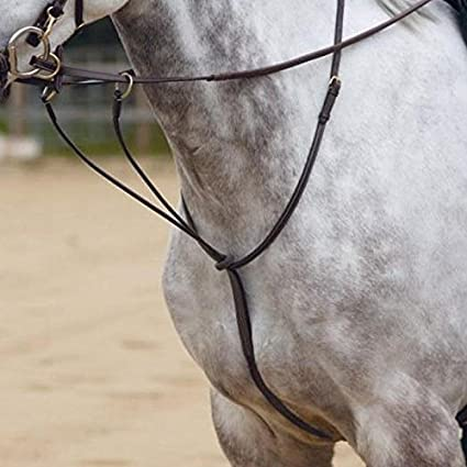 Apna Pony Horse Riding Leather Competition Racing Running Quality Martingale