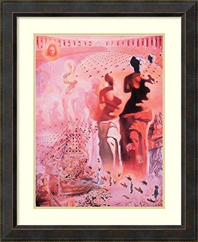 (Framed Wall Art Print   Home Wall Decor Art Prints   Hallucinogenic Toreador by Salvador Dali   Traditional Decor)