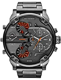 Men's DZ7315 Mr Daddy 2.0 Gunmetal Watch