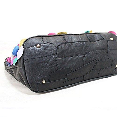 mélangées noir 40cm Multicolore 18cm pour Couleurs femme Pochette Eysee 30cm wqPIzz