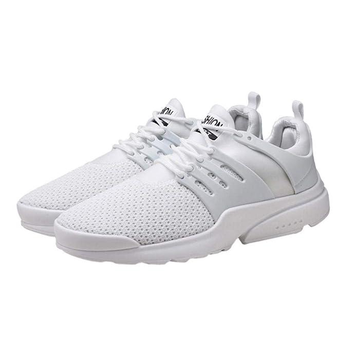 b39c86773cebb8 ELECTRI Homme Mode Grande Taille Sneaker Marche Occasionnel Glissent sur  Les Chaussures Sport Maille Sport Plein air Lame Chaussures Course  Respirantes: ...