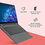 Lenovo IdeaPad Flex 5 10th Gen Intel Core i3 14-inch FHD IPS 2-in-1 Touchscreen Laptop (4GB/256GB SSD/Windows10/MS…