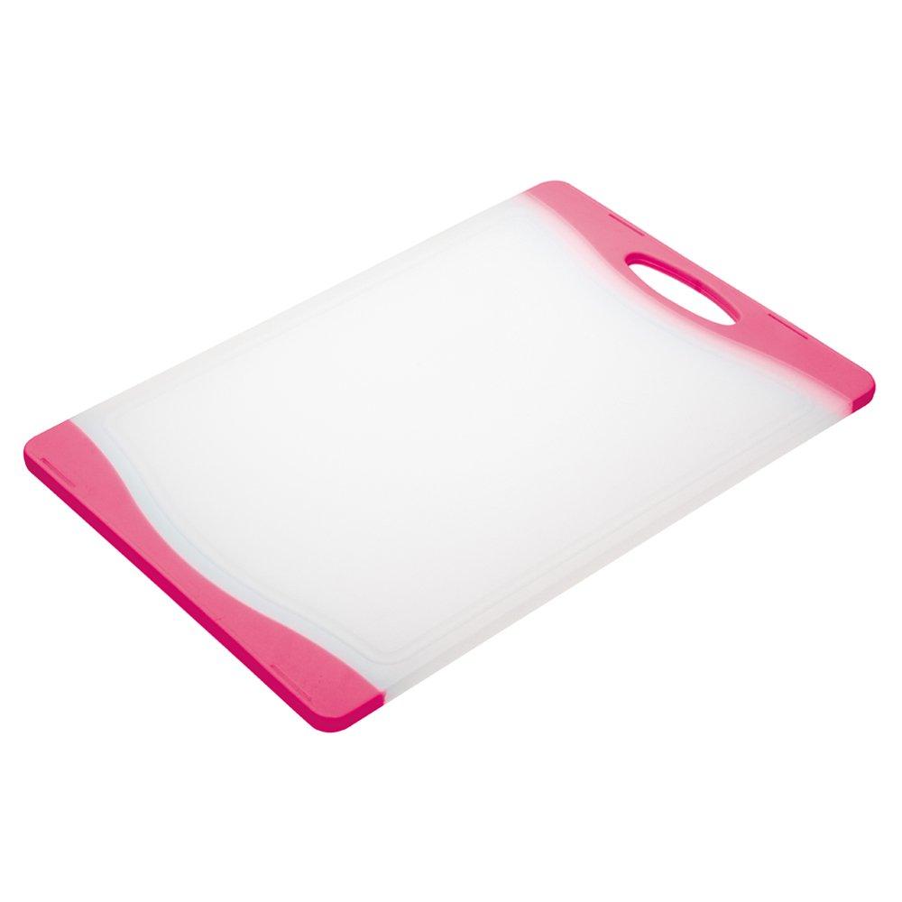 Colourworks Polyethylene Reversible Cutting Board, Blue, 36.5 x 25 cm Kitchen Craft CWBOARD350BLU