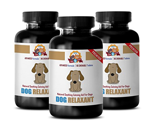 PETS HEALTH SOLUTION Dog Calming aids Small Dog – Dog Anxiety aids – Dog Relaxant – l-tryptophan Supplements for Dogs…